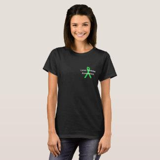 Skjorta för Lyme sjukdommedvetenhet Tshirts
