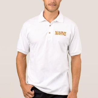 Skjorta för Maine höstPolo Tenniströja