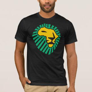 Skjorta för manar för gult för grönt för afrika tee