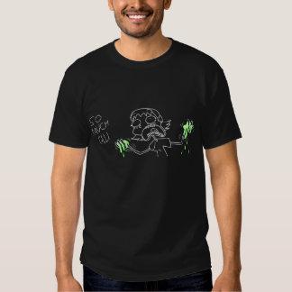 Skjorta för MelGelsvart Tee Shirt