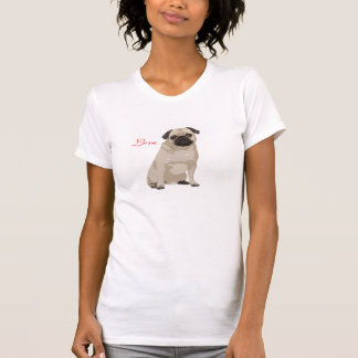 Skjorta för mopskärlek T Tröja