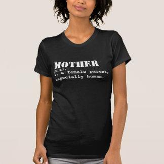Skjorta för mordefinitionmors dag tee shirt