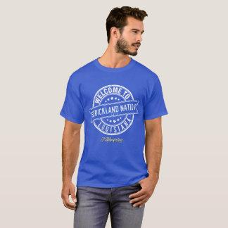 Skjorta för möte för Strickland nationfamilj Tshirts