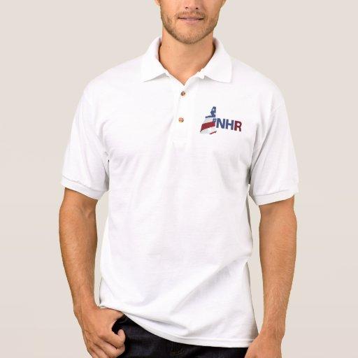 Skjorta för NH-revoltPolo med Hashtag Polotröja