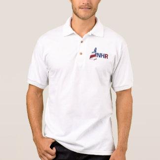Skjorta för NH-revoltPolo med Hashtag Tenniströja