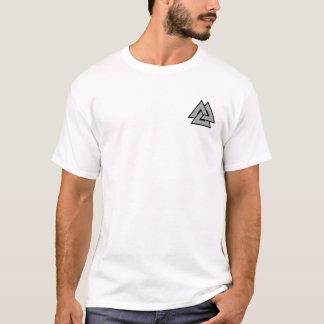 Skjorta för NorseValknut symbol T Shirts