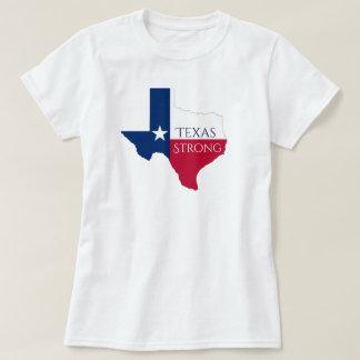 Skjorta för orkanHarvey Texas stark statlig flagga Tee