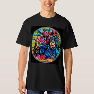 Skjorta för ÖVERHETDeppighet-Dimma Psychedelic Tee