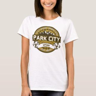 Skjorta för Park City färglogotyp T Shirt