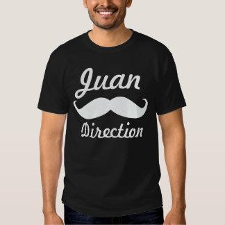 Skjorta för parodi för Juan riktning rolig Tröjor