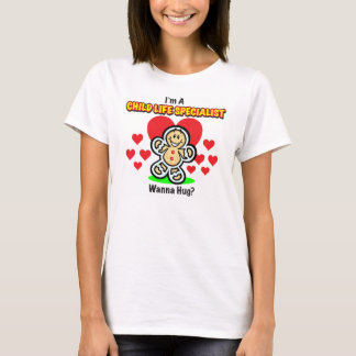 Skjorta för pepparkaka för barnlivspecialist t-shirt