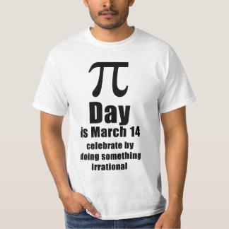 Skjorta för Pi-dagfirande T Shirt