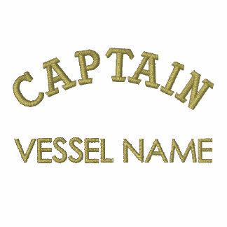 Skjorta för Polo för kapten för Pesonalised fartyg