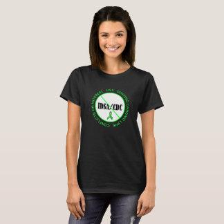Skjorta för protest för CDC för Lyme sjukdom Anti T Shirt