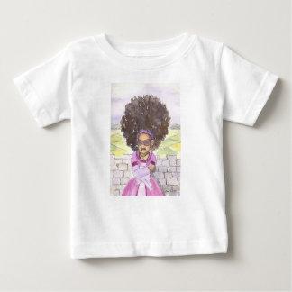 Skjorta för Rapunzel afro- babysmåbarn Tshirts