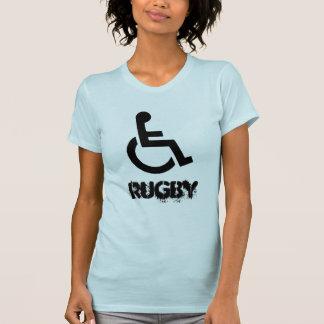 Skjorta för rullstolRugbyMurderball sport Tee Shirts