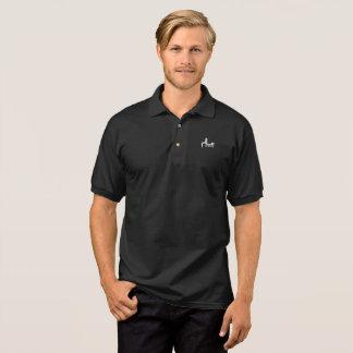 Skjorta för Salaam sportGolf - mörk Tenniströja
