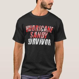 Skjorta för sandig överlevande för orkan bekymrad t shirts