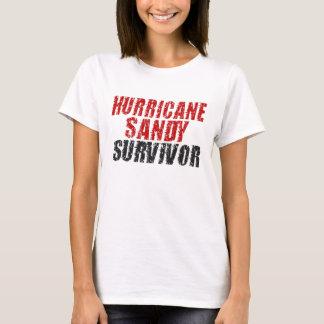 Skjorta för sandig överlevande för orkan bekymrad tee shirts