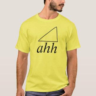 skjorta för scalene triangel t-shirt