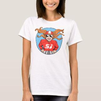Skjorta för SidecarJudy damer T Tee Shirts