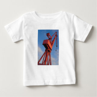 Skjorta för skeppsvarvkranutslagsplats t shirt