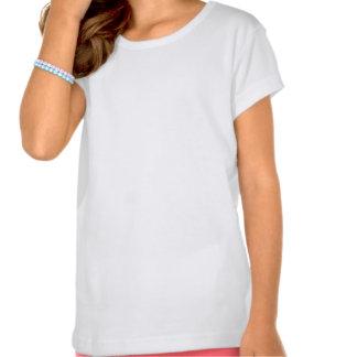 Skjorta för sleeve för amerikandräktlock i vit - f tshirts