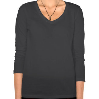 Skjorta för sleeve för stendåligaWifey skalle T-shirts