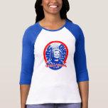 Skjorta för sleeve för Yas drottningHillary T-shirt