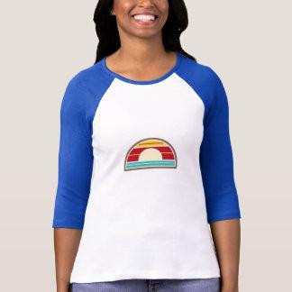 skjorta för solnedgång T för 70-tal inspirerad Tee Shirt