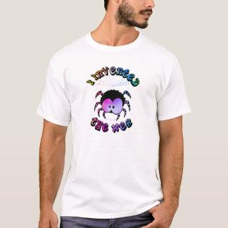 Skjorta för spindel T för gullig tecknad rolig Tshirts