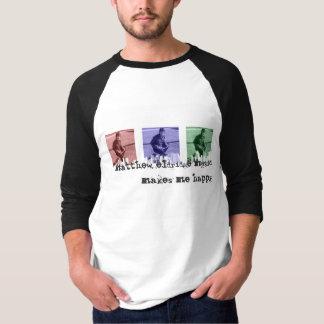 skjorta för stad för matthew eldridgetrehjuling tee