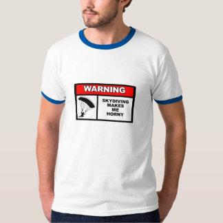 """Skjorta för stil """"för ringer"""" för Skydiving T Shirt"""