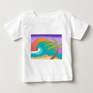 Skjorta för strandbaby T Tee Shirts