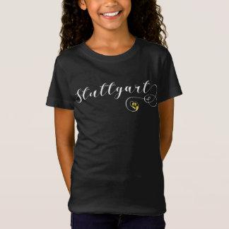 Skjorta för Stuttgart hjärtautslagsplats, Tyskland T-shirts