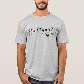 Skjorta för Stuttgart hjärtautslagsplats, Tyskland Tee