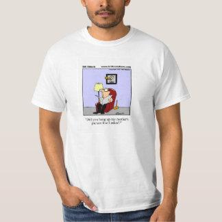 Skjorta för svärmorhumorutslagsplats för honom tee shirt