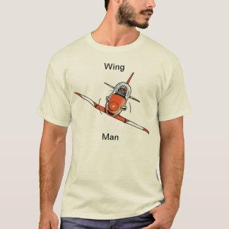 Skjorta för tecknad för flyg för vingeman rolig t-shirt