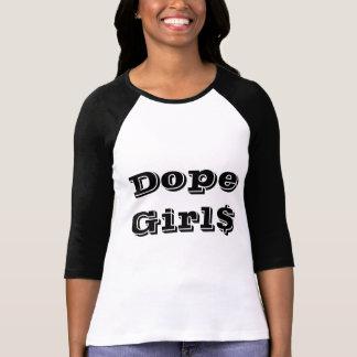 Skjorta för tjack Girl$ (långärmad) T-shirts