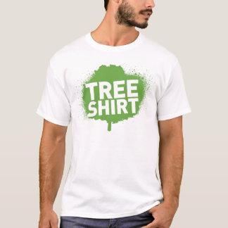 Skjorta för trädskjortautslagsplats t shirt