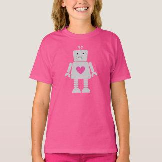 Skjorta för ungerobotvalentin tröjor