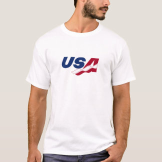 Skjorta för USA Racquetballutslagsplats Tee Shirts