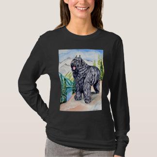 Skjorta för utslagsplats för Bouvier des Flandres Tee Shirt