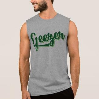 Skjorta för utslagsplats för dialekt för ärmlösa tröjor