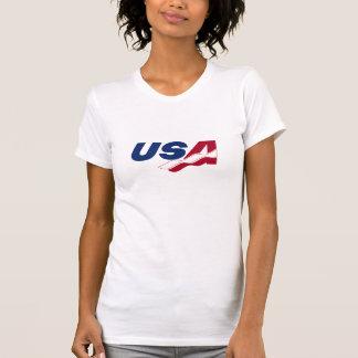 Skjorta för utslagsplats för USA Racquetballdamer Tröja