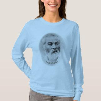 Skjorta för utslagsplats för Walt Whitman ålder 44 T Shirts