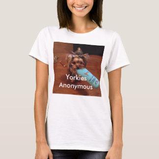 Skjorta för utslagsplats för Yorkshire Terrier Tshirts