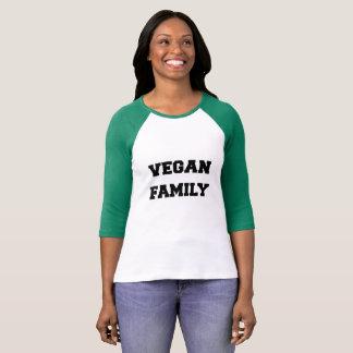 SKJORTA för VEGANFAMILJ T för henne Tee Shirts