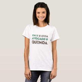 Skjorta för vegetarian för Vegan för Quinoa för T-shirts