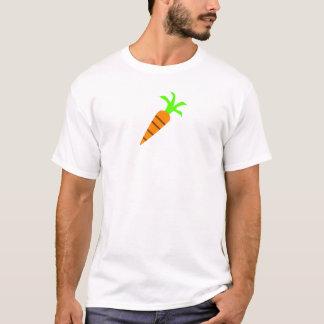 Skjorta för vektormorotgrönsak tee shirt